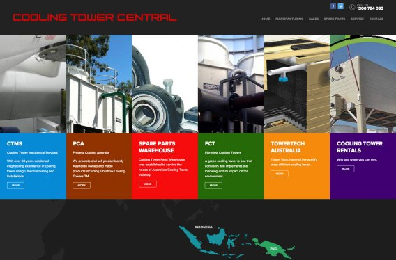 Portfolio Cooling Tower Central