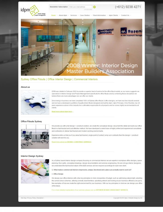 Client: IDPM   Interior Design Project Management