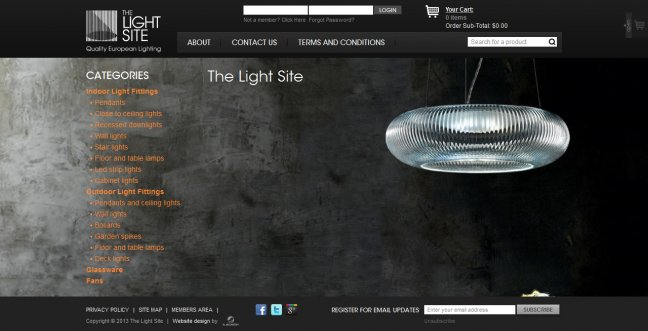 Portfolio Light Site